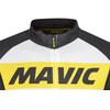 Mavic Cosmic Cykeltrøje korte ærmer Herrer hvid/sort
